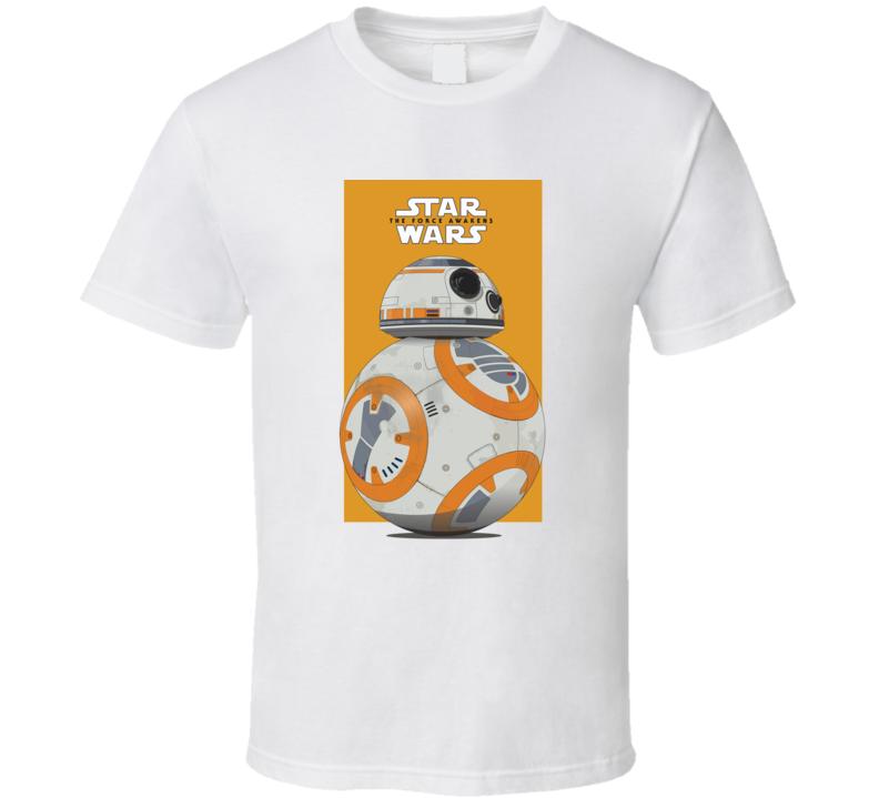 Star Wars The Force Awakens BB8 T Shirt