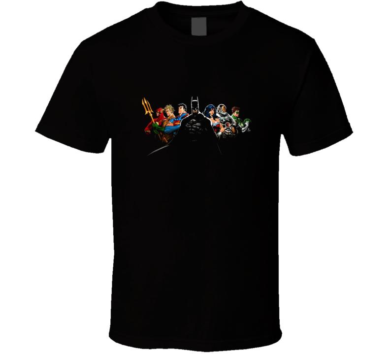 The Justice League DC Comic Book T Shirt