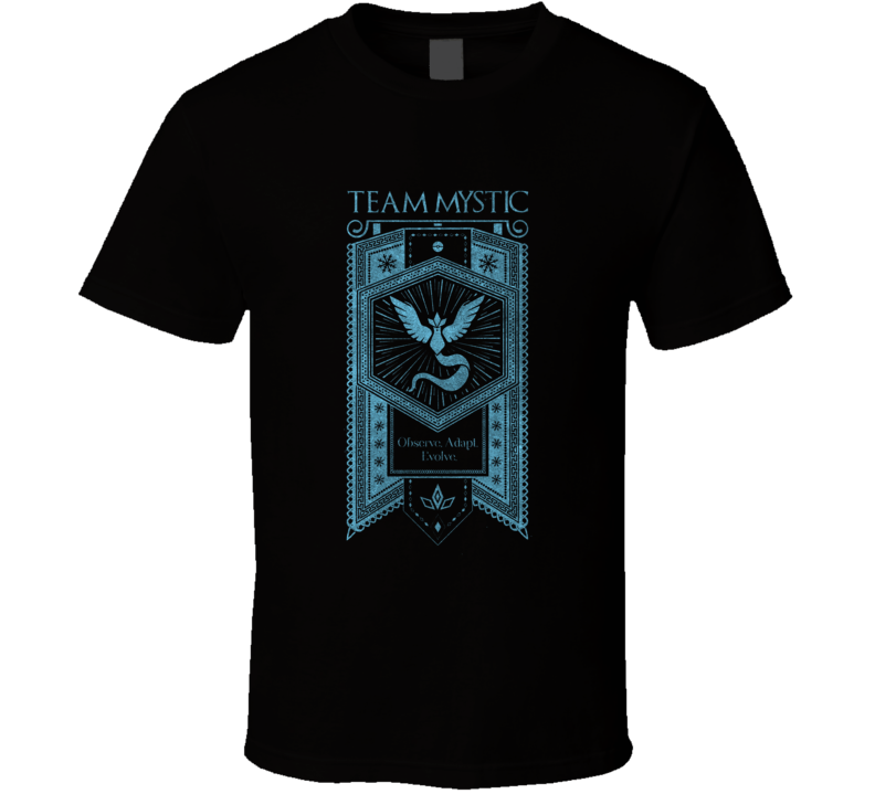 Pokemon Go Team Mystic T Shirt