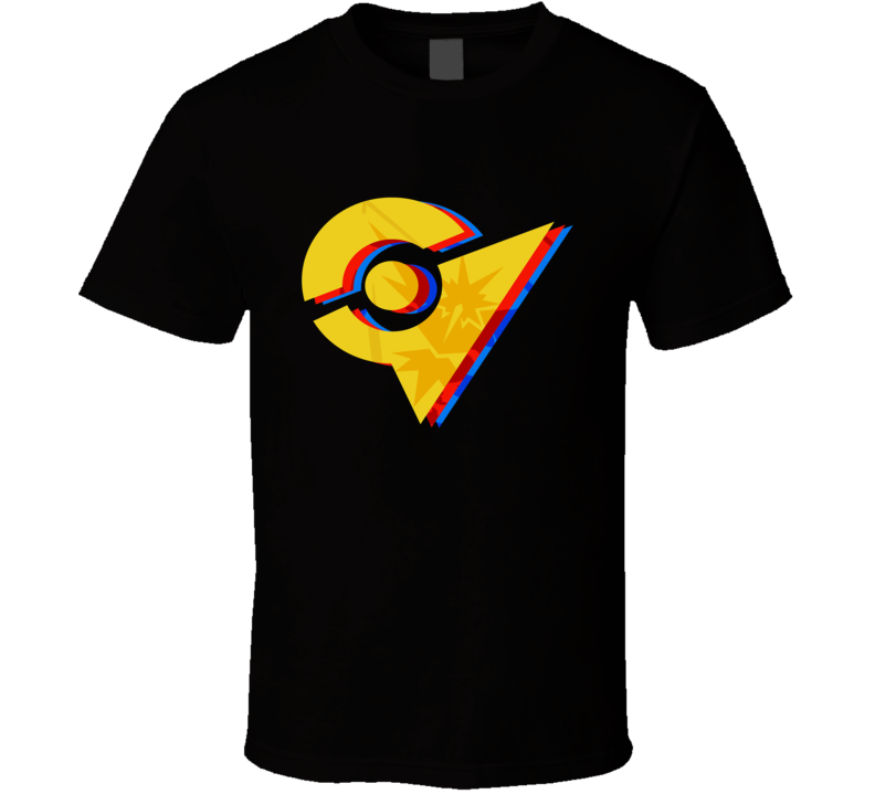 Pokemon Go Team Instinct Gym T Shirt