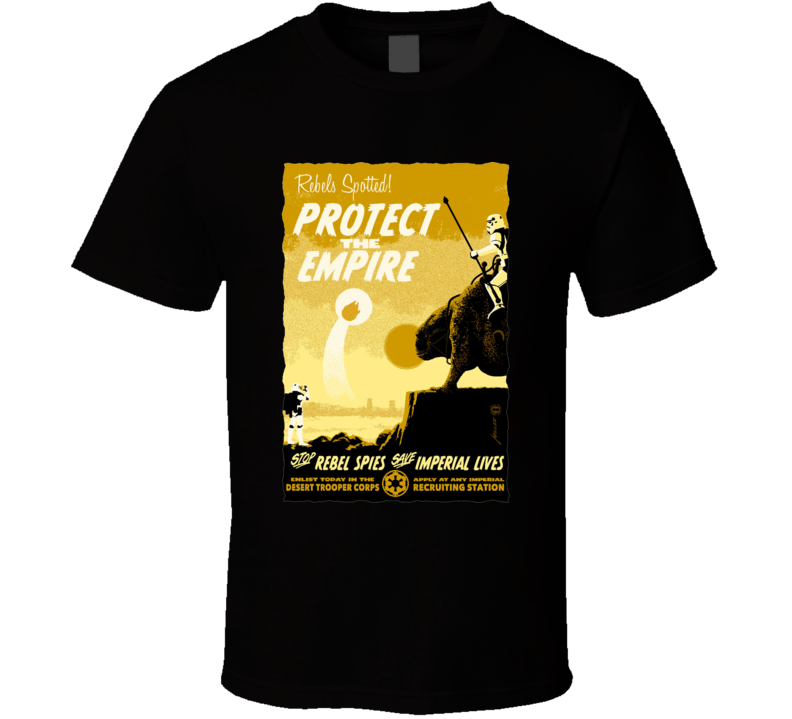 Protect The Empire Star Wars Movie T Shirt
