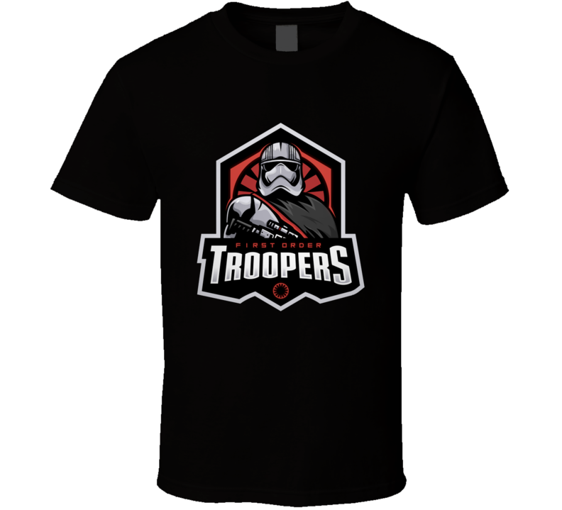 First Order Stormtroopers T Shirt Star Wars Movie