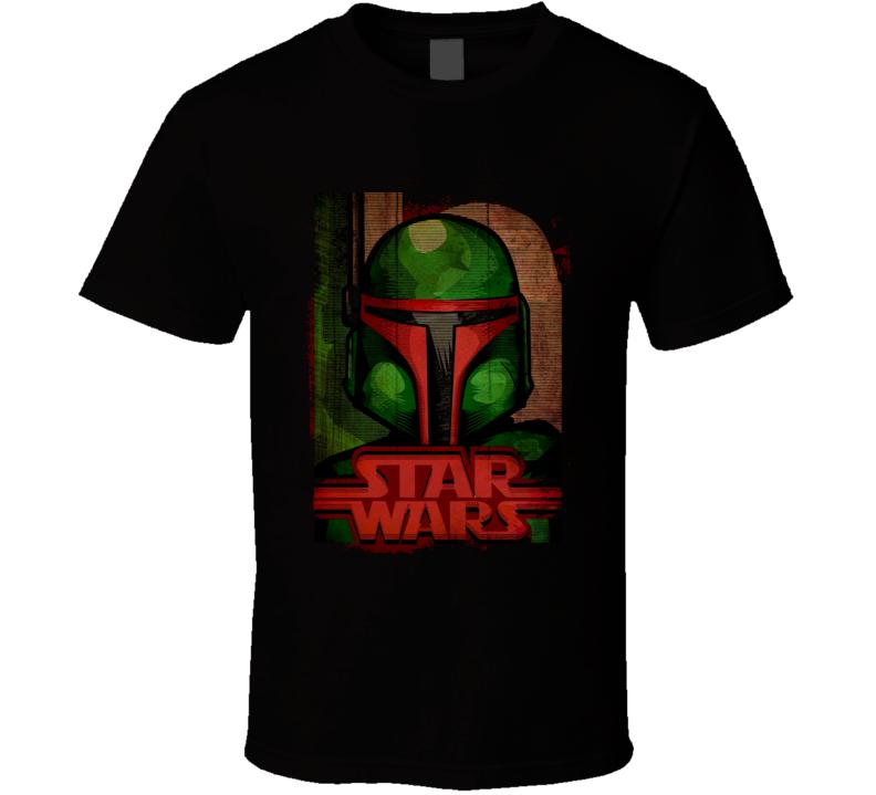 Star Wars Boba Fett Movie T Shirt