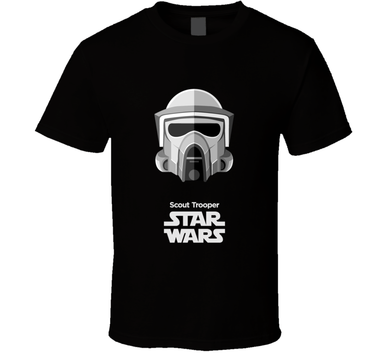 Scout Trooper  Stormtrooper T Shirt Star Wars Movie