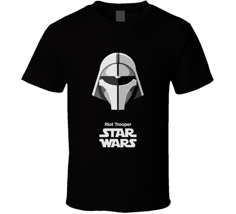Riot Trooper Stormtrooper T Shirt Star Wars Movie