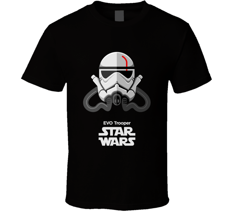 EVO Trooper Stormtrooper T Shirt Star Wars Movie