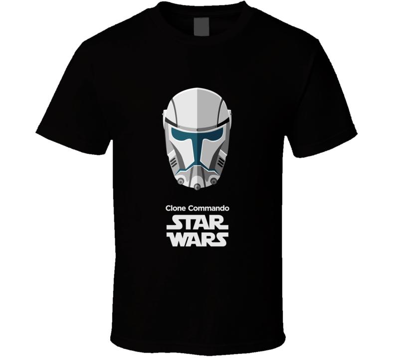 Clone Commando Stormtrooper T Shirt Star Wars Movie