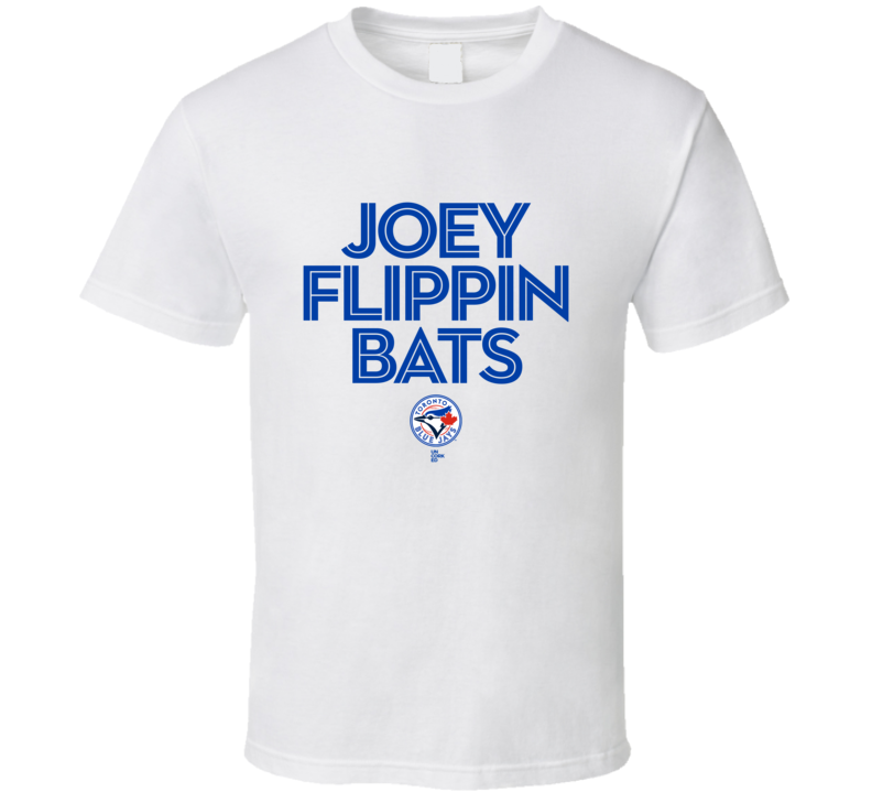 Jose Bautista Bat Flip T Shirt Flippin Bats Toronto Blue Jays