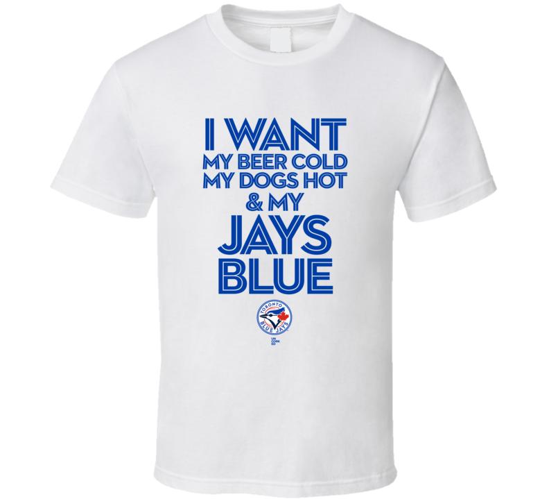 Toronto Blue Jays Baseball T Shirt