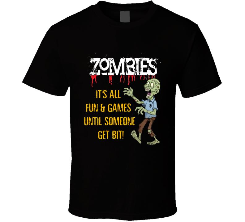 Zombies Halloween T Shirt