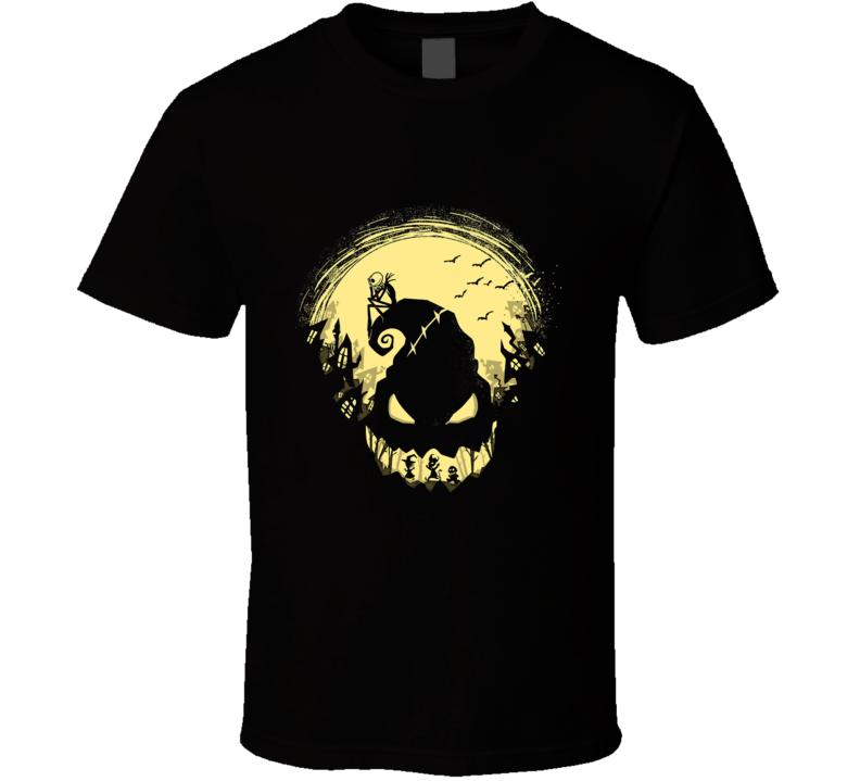 Nightmare Before Christmas Halloween T Shirt