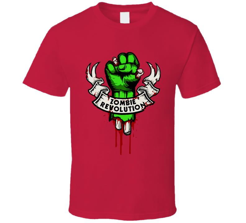 Zombie Revolution T Shirt