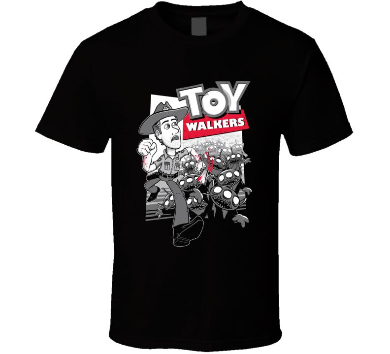 Toy Walkers T Shirt Walking Dead Parody