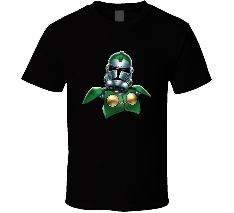 Doctor Doom Stormtrooper T Shirt Star Wars Marvel Crossover