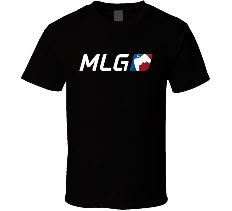 MLG Major League Gaming Logo T Shirt