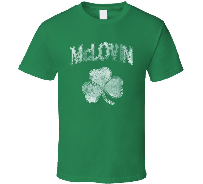 McLovin St. Patrick's Day T Shirt