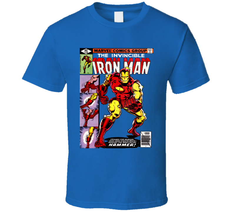 Iron Man Comic Book Cover T Shirt