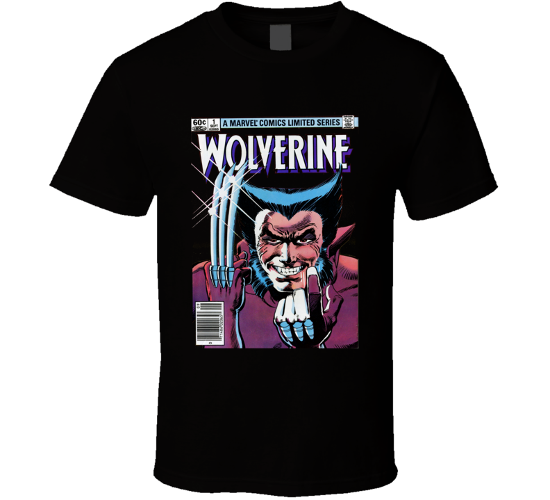 Wolverine Comic Book Cover T Shirt