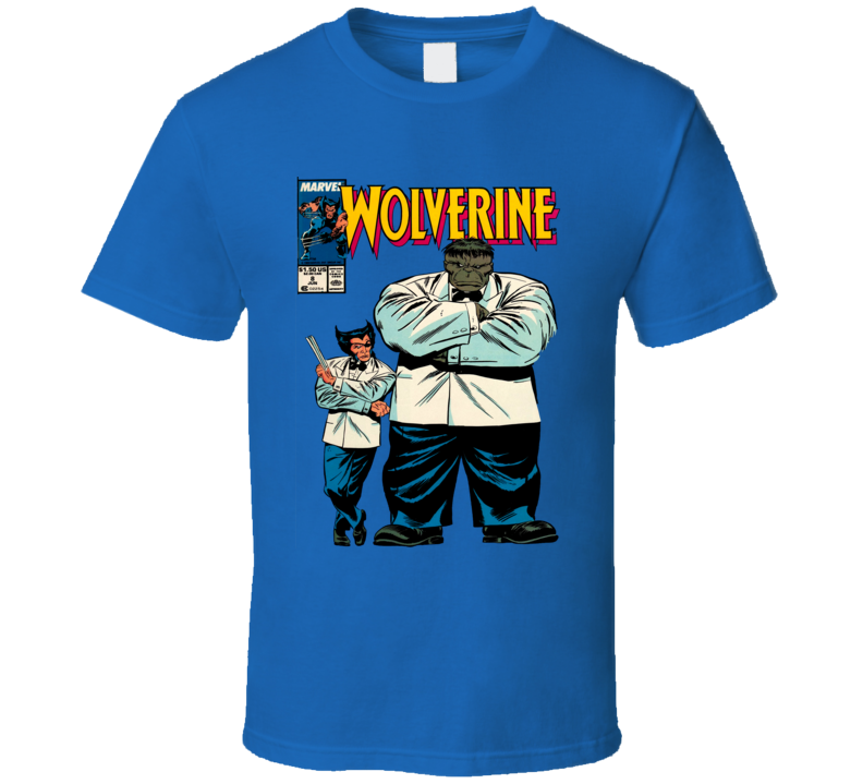 Wolverine and Hulk Comic Book Cover T Shirt