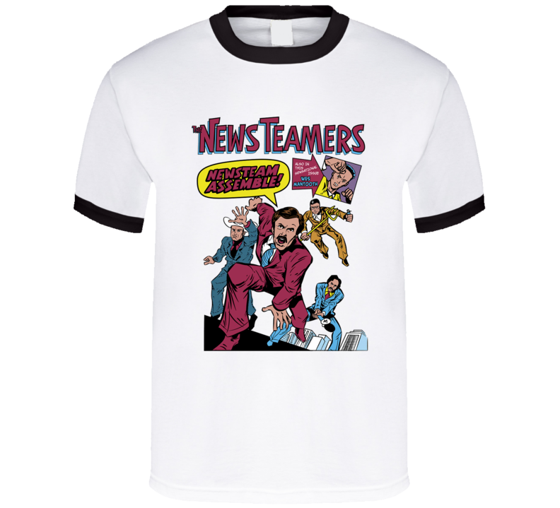 Anchorman News Teamers T Shirt