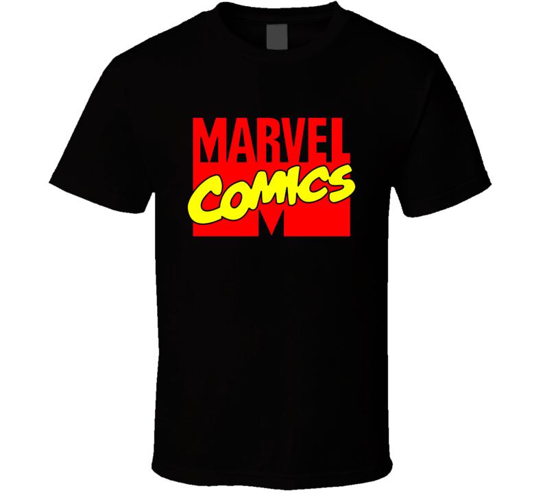 Marvel Comics Retro Logo T Shirt