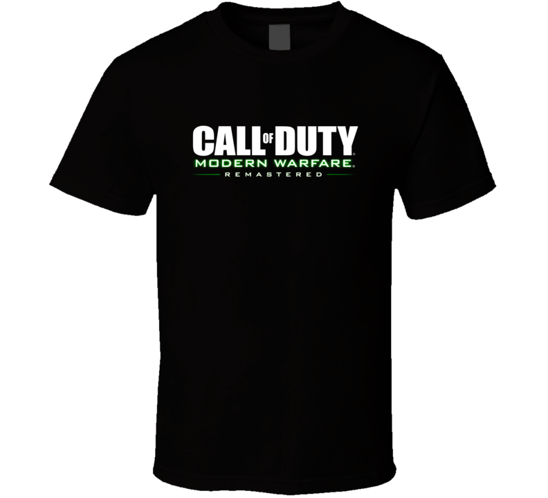 Call Of Duty Modern Warfare Remastered T Shirt