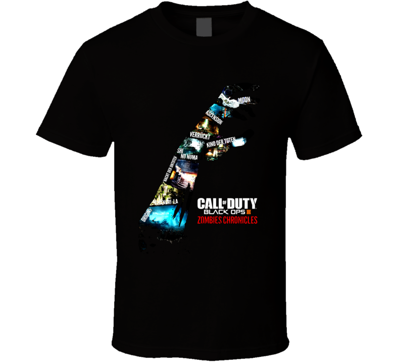 Call Of Duty Zombie Chronicles Black Ops III T Shirt