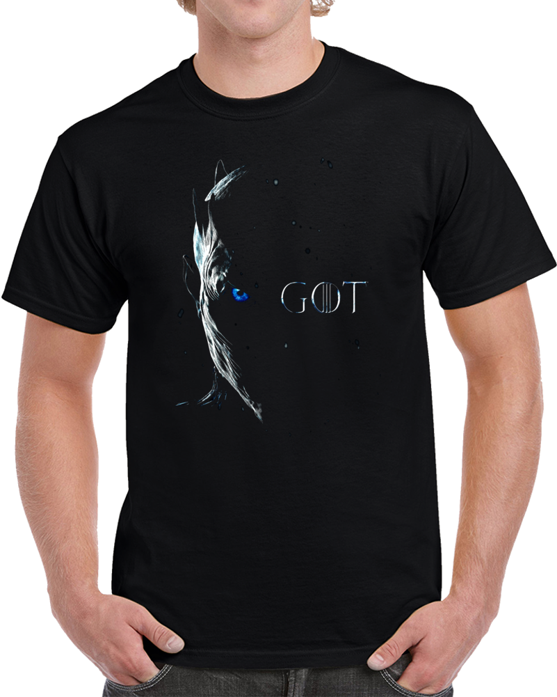 Game Of Thrones White Walker T Shirt Winter Is Here