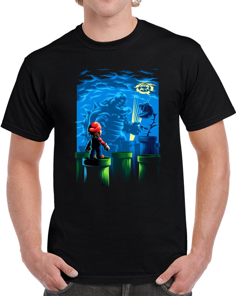 Mario And Bowser Nintendo T Shirt