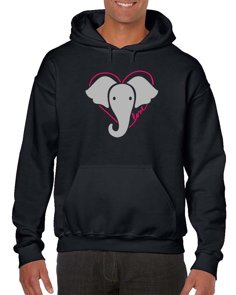 Be Kind To Elephants Hoodie