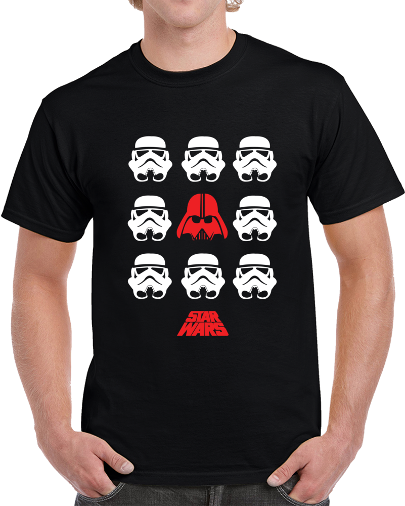 Darth Vader And Stormtroopers Star Wars T Shirt