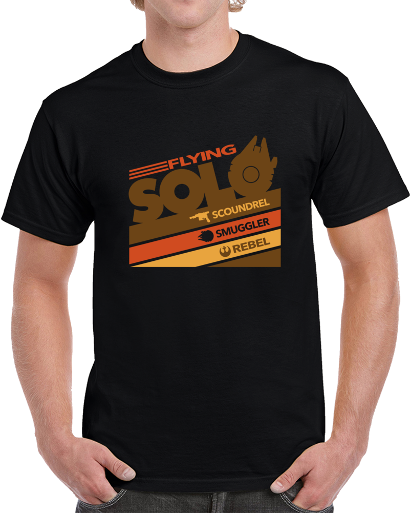 Han Solo Star Wars T Shirt