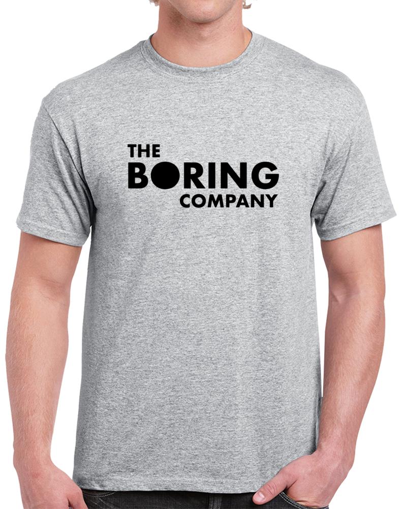 The Boring Company T Shirt