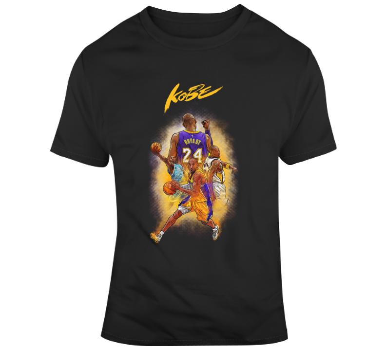 Kobe Black Mamba Bryant T Shirt