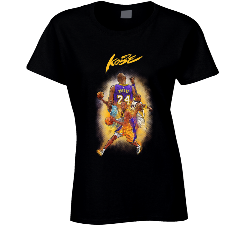 Kobe Black Mamba Bryant Ladies T Shirt