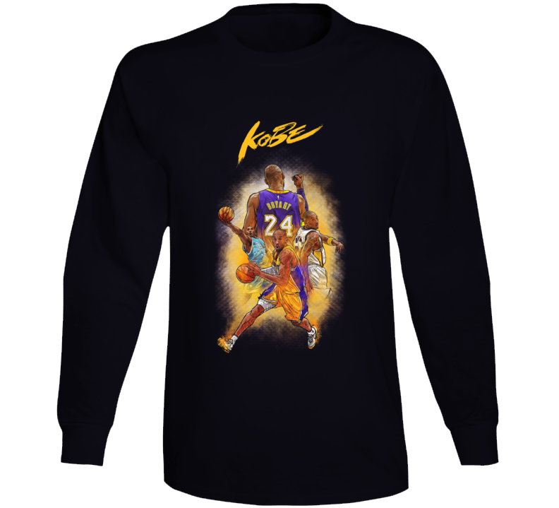 Kobe Black Mamba Bryant Long Sleeve