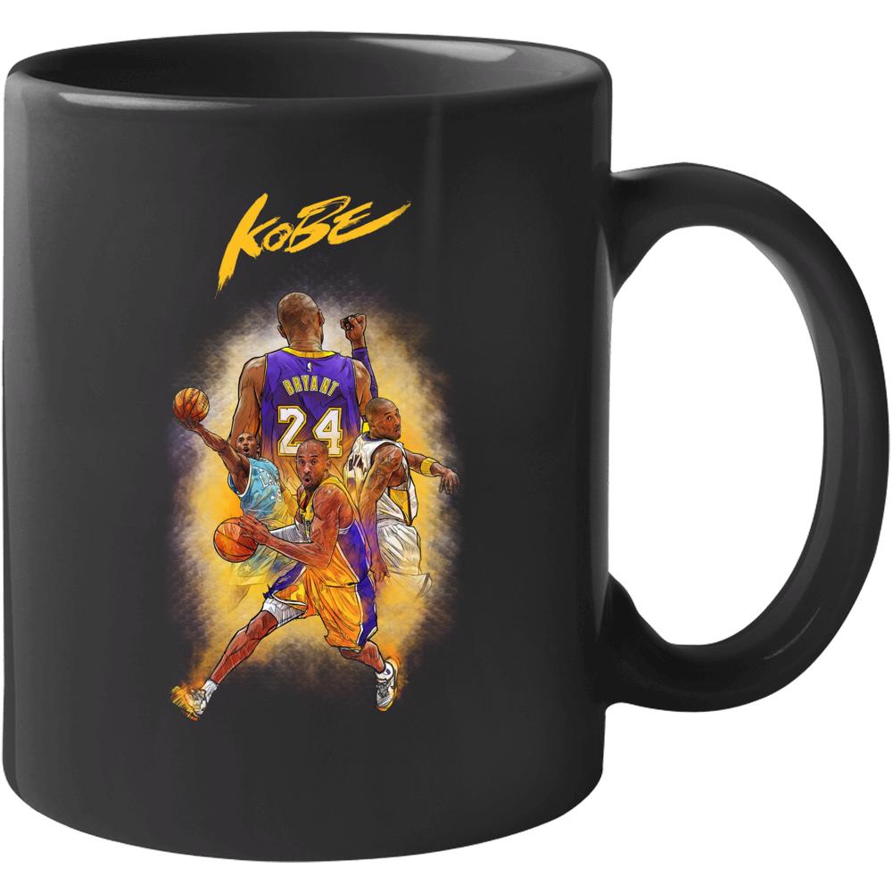 Kobe Black Mamba Bryant Mug