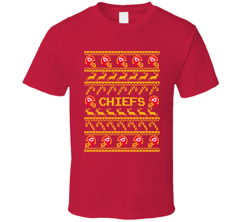 Chiefs Christmas Ugly Sweater T Shirt