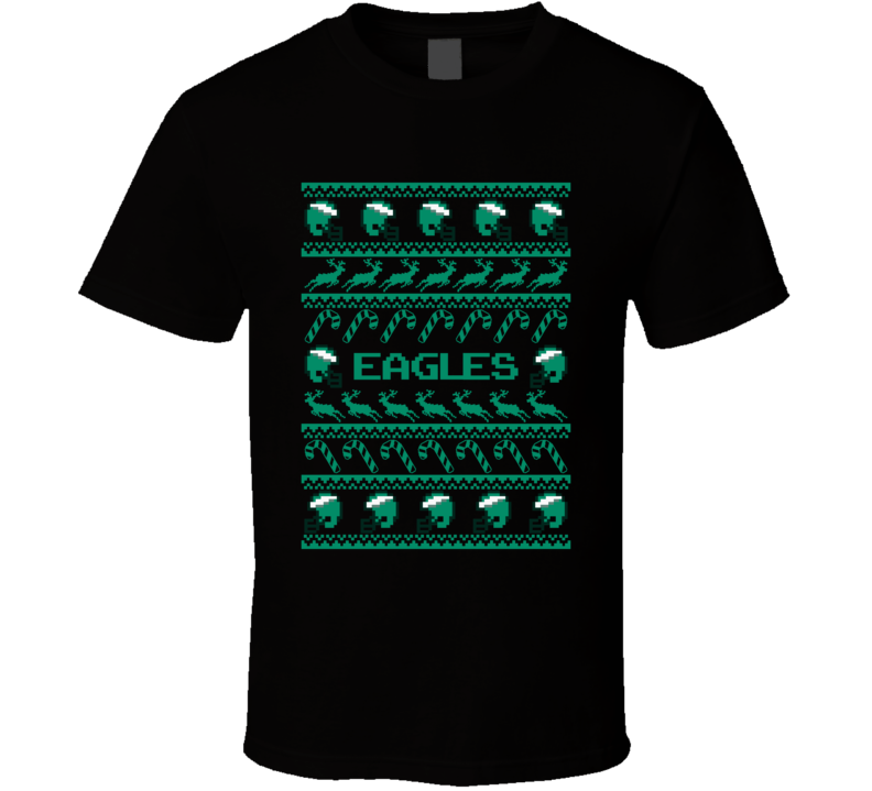Eagles Ugly Christmas Sweater Football T Shirt