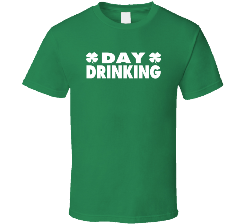 Saint Patricks Day Luck Clover Day Drinking T Shirt