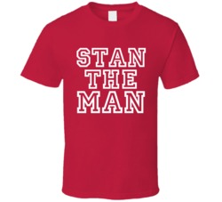 Stan Wawrinka Stan The Man Tennis Champ T Shirt