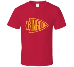 Kansas City Arrowhead Chiefs Kingdom Football T Shirt