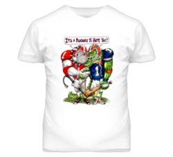 College Football Rivals Pleasure to Hate Gators Bulldogs CFB T Shirt