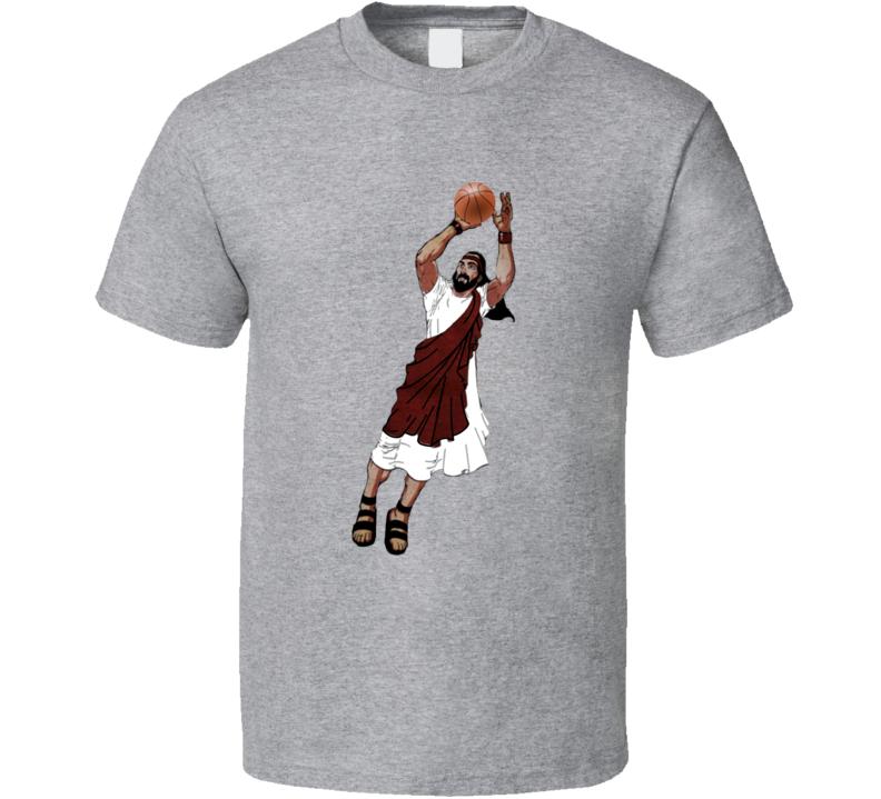 Jesus Jump Shot JR Smith Basketball T Shirt