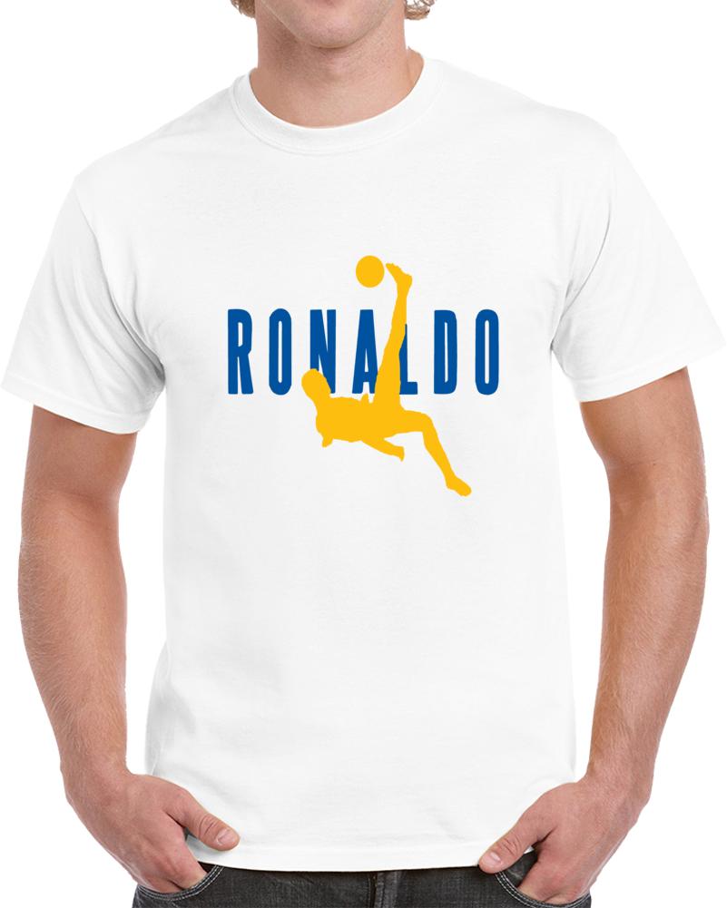 Cristiano Ronaldo Real Madrid Bicycle Kick Air Ronaldo Champions Leaguet Shirt
