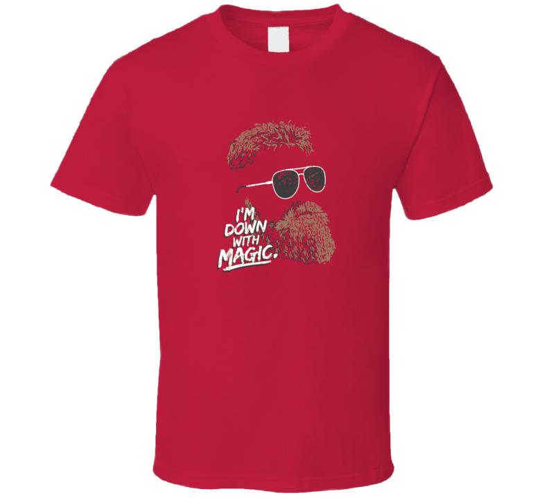I'm Down With Fitzmagic Ryan Fitzpatrick Tampa Bay Quarterback T Shirt