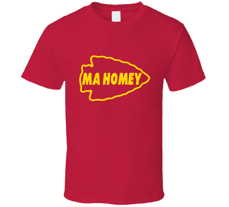 Patrick Mahomes Ma Homey Kansas City Chiefs Quarterback T Shirt