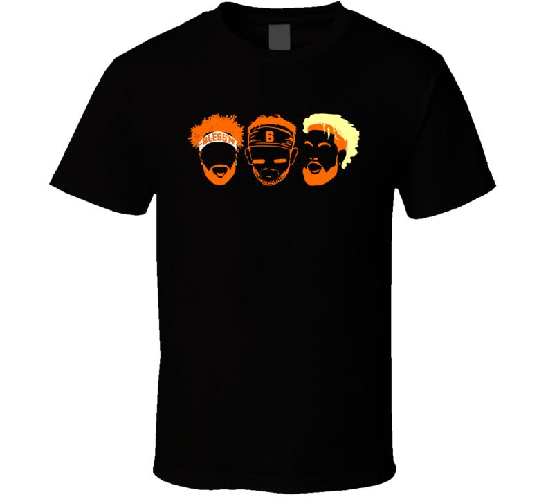 Cleveland Browns Jarvis Landry Odell Beckham Baker Mayfield T Shirt
