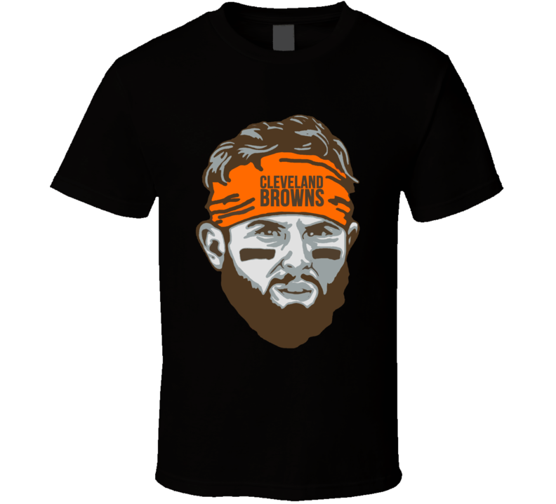 Baker Mayfield Big Head Quarterback Cleveland Browns Football T Shirt T Shirt