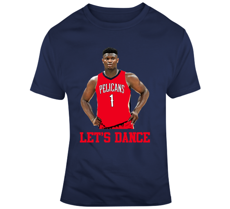 Lets Dance Zion Williamson Pelicans Avengers Basketball T Shirt